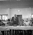 ביקור נשיא ההסתדרות הציונית חיים וייצמן מסיבה בבית הארחה ווייצמן מדבר btm14247.jpeg