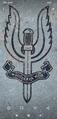 סמל ה-SASבאנדרטה לדיוויד סטירלינג.png