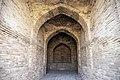 آجرچینی های دوره های مختلف تاریخی در کاروانسرای دیر گچین (36).jpg