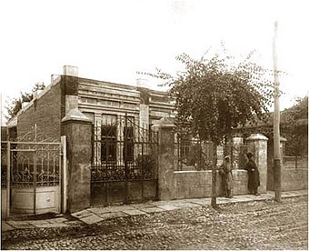 Chavchavadze's house in Tbilisi.