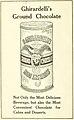 """Ghirardelli's Ground Chocolate"" - The bride's cook book .. (IA bridescookbook00brig) (page 40 crop).jpg"