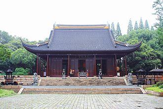Chen Peiqiu - The Tianfei Palace in Songjiang