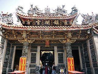 Dajia Jenn Lann Temple popular Mazu temple in Dajia, Taichung, Taiwan