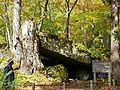 奧入瀨川石窟 Rock cave at Oirase River - panoramio.jpg