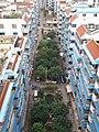 将军大酒店十楼鸟瞰繁荣小区的小巷 - panoramio.jpg