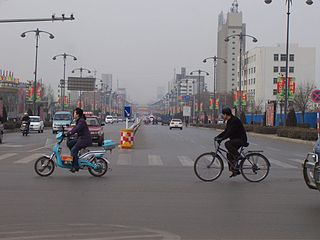 Yuci District District in Shanxi, Peoples Republic of China
