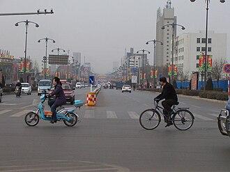 Yuci District - Yingbin st. Yuci