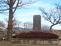海津城趾之碑 Monument of Kaizu castle 2011.1.01 - panoramio.jpg