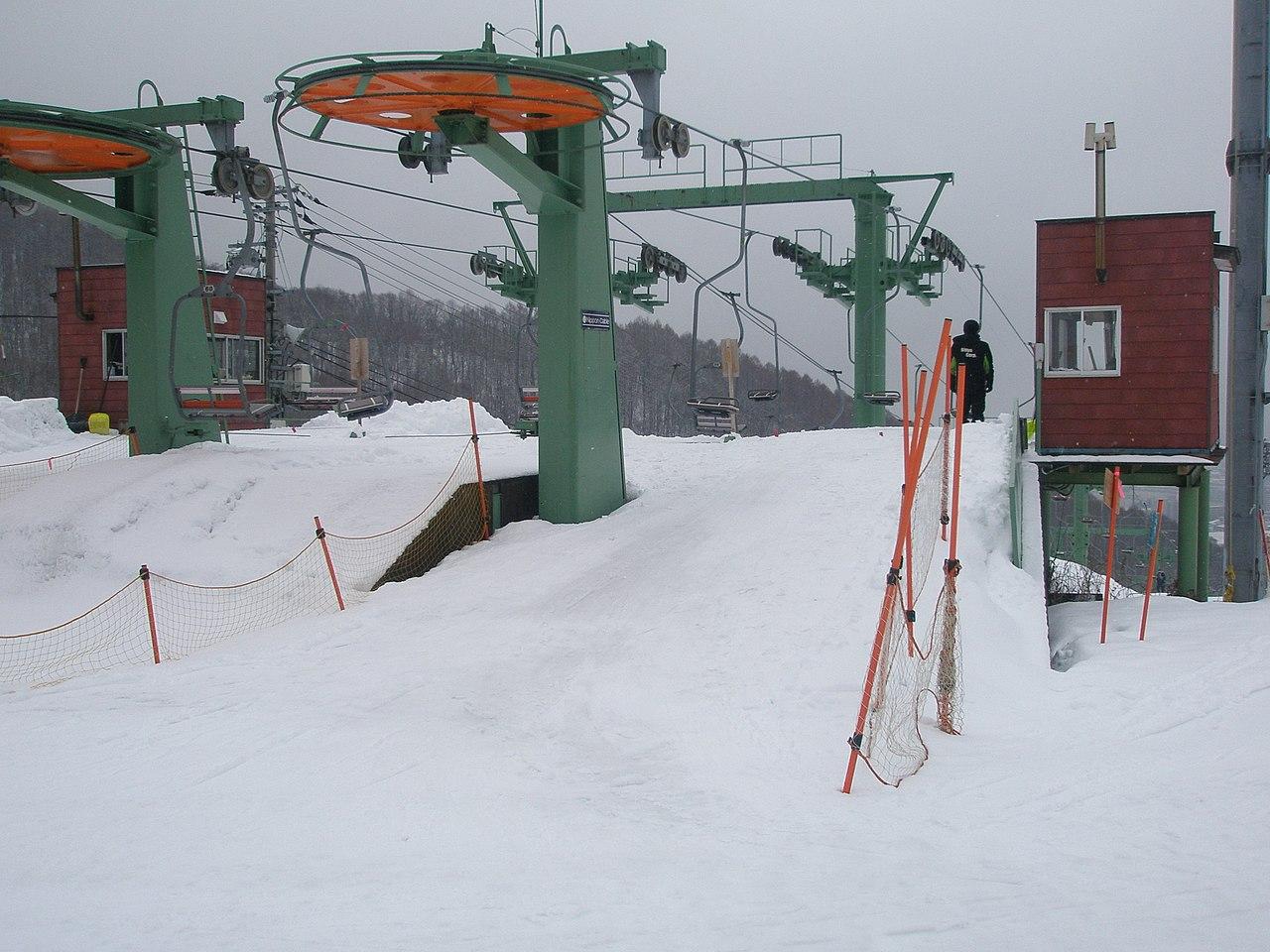 スキー 藻 場 岩山
