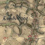 01809 1869 Kombornia bei Krosno Josephinische Landesaufnahme (1806-1869).jpg