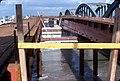 036R20270378 Stadt, Floridsdorferbrücke, stadtauswärts, Stahltragwerk der neuen Brücke, rechts noch bestehende alte Brücke.jpg