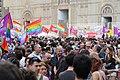 0463 - Bandiere in Piazza Maggiore - Bologna Pride 2012 - Foto Giovanni Dall'Orto, 9 giugno 2012.jpg