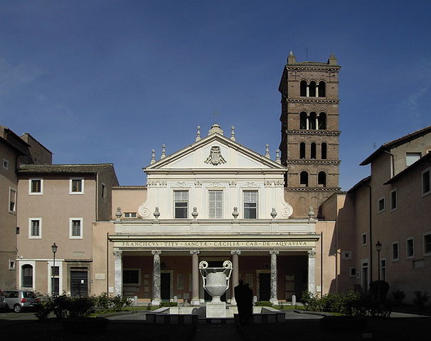 Basílica de Santa Cecilia in Trastevere. Fuente: Wikipedia
