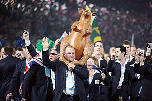 Australia at the 2008 Summer Paralympics - Australian team at the 2008 Beijing Paralympics opening ceremony