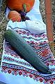 064 Dekoration zum Erntedakfest mit ukrainischen Motiven in Mokre (2013).JPG