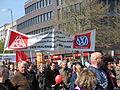 1. Mai 2013 in Hannover. Gute Arbeit. Sichere Rente. Soziales Europa. Umzug vom Freizeitheim Linden zum Klagesmarkt. Menschen und Aktivitäten (152).jpg