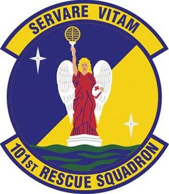 101st Rescue Squadron - Image: 101st Rescue Squadron emblem