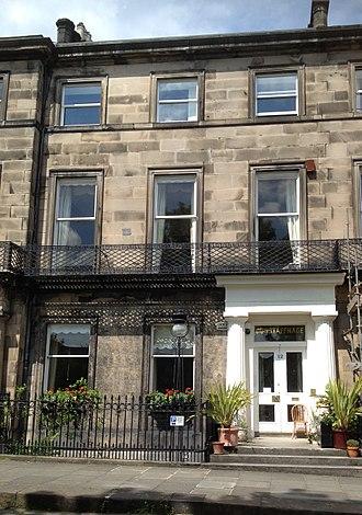 Marie-Caroline de Bourbon-Sicile, duchesse de Berry - 12 Regent Terrace, Edinburgh