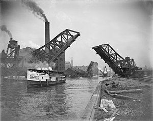 12th Street Bascule Bridge, Chicago, Illinois ...