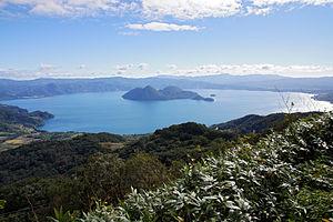Lake Tōya - Lake Tōya (September 2013)