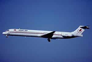 Onur Air - An Onur Air McDonnell Douglas MD-88 in 2001