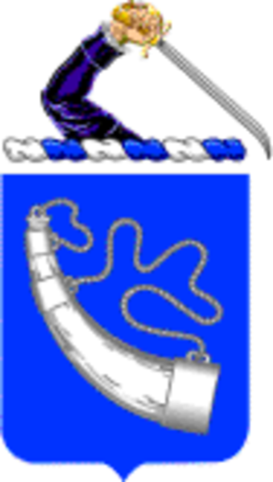 Company A 1-181 Infantry - 181st Infantry coat of arms