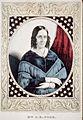1846 MrsPolk afterJohnPlumbe LOC.jpg