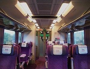 British Rail Class 185 - Class 185 first class saloon