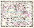 1855 Colton Map of Utah and New Mexico (first edition, first state) - Geographicus - UtahNewMexico-colton-1855.jpg