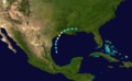 1886 Atlantic hurricane 1 track.png