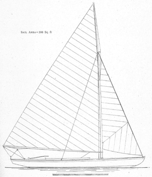 Sailing at the 1920 Summer Olympics – 18' Dinghy - Image: 18 foot dinghy 1