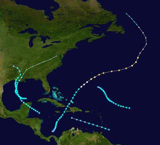 1905 Atlantic hurricane season hurricane season in the Atlantic Ocean