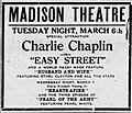 1917 - Madison Theater Ad Allentown PA.jpg