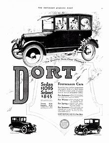 1918 Dort Sedan and Sedanet (6113179245).jpg