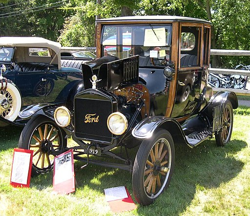 1919 Ford Model T Highboy Coupe