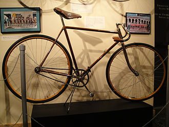Iver Johnson - 1927 Iver Johnson model 90 bicycle.