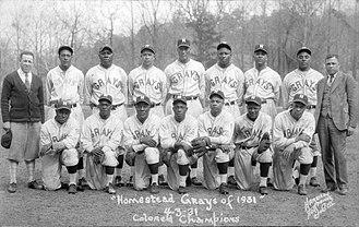 Homestead Grays - 1931 Homestead Grays