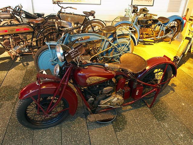 file 1930 indian chief scout 7cv  mus u00e9e de la moto et du v u00e9lo  amneville  france  pic