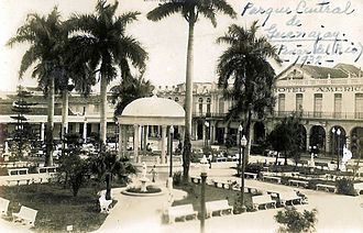 Guanajay - The central park in 1932