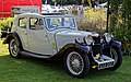 1934 Riley Kestrel 1100 Saloon at Capel Manor, Enfield, London, England 1.jpg