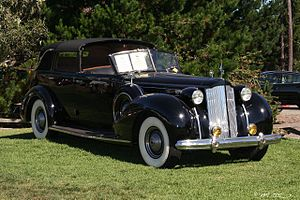 Brunn & Company - All weather cabriolet on a 1938 Packard V12 chassis