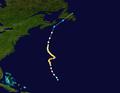 1943 Atlantic hurricane 4 track.png