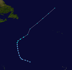 1955 Atlantic tropical storm 11 track.png