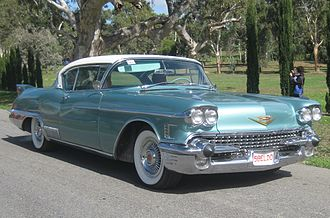 Dagmar bumper - Image: 1958 Cadillac Eldorado Seville