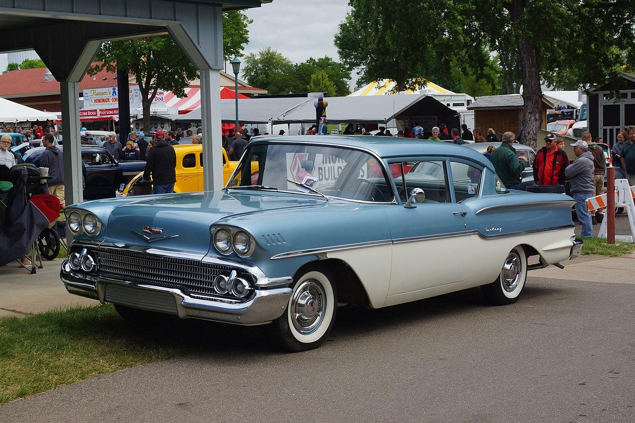 File 1958 Chevrolet Delray 35481518442 Jpg Wikimedia Commons