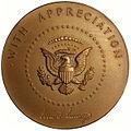 1962 President John F. Kennedy Appreciation Medal (reverse).jpg