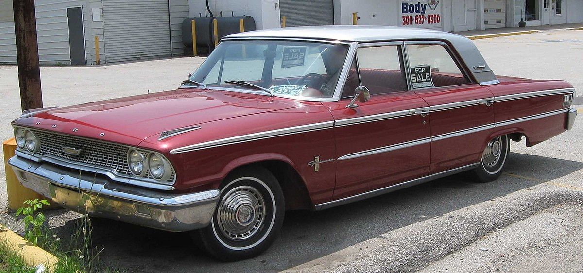 Used Cars Louisville Ky >> Ford Galaxie - Wikipedia