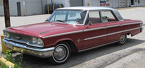 Ford Galaxie - 1963 Ford Galaxie 500 4-Door Sedan