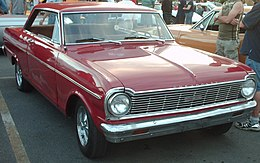 1965 Chevrolet Chevy II Nova SS coupé in red.jpg