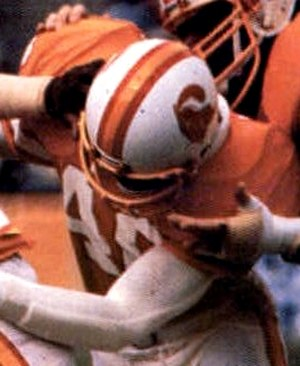Mike Washington - Washington playing for the Buccaneers in 1979